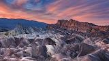 Zabriskie Point, Death Valley National Park, Kalifornia)