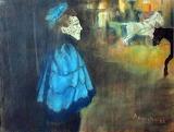 Louis Anquetin, la Femme en bleu, 1889