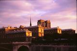 Europe - France - Paris - Notre Dame - back view