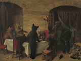 "Art tumblr enchantedbook ""Bear Carousal"" 1870 ""William Holbrook"