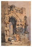 A Gothic Gateway by Samuel Prout