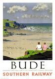Bude Cornwall Poster