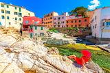 beautiful town in Italy