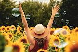 Bubbles & Sunflowers