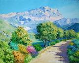 Mountain Sainte Victoire
