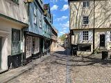 Medieval street Norwich Norfolk