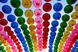 Colors rainbow paper lanterns