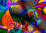 Abstract, colorful