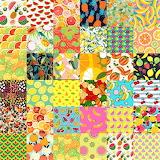 #Retro Fruit Collage