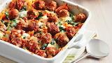 Spinach Meatball Pasta Bake Yuuummmm