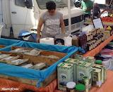 Cretan specialities at Chania market