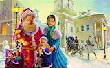 Santa is in town