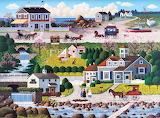 Crickethawk Harbor by Charles Wysocki