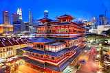 Buddha Tooth Relic Temple, Singapore...
