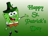 Happy St. Patrick's Day From SpongeBob