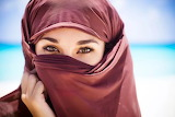 beauty of Muslim women