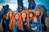 red hair children