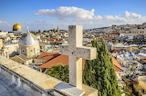 City, house, church, dome, cross, architecture