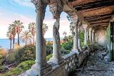 Balcony columns Abandoned castle R