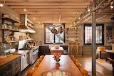 Vermont Carriage House Kitchen