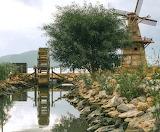 Windmill and Waterwheel - Photo from Piqsels id-omwcq