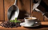 Un café à la cafetière italienne..