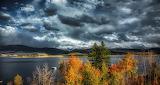 Autumn in Lake Granby, Colorado