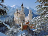 Neuschwanstein Castle Bavaria in Winter