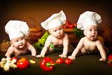☺♥ Three Little Chefs...