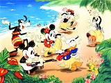 Mickey and Friends Have a Beach Luau