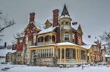 Victorian Home ~ winter
