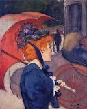 Louis Anquetin, Femme à l'ombrelle, 1891