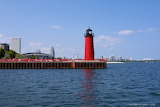 Milwaukee Pierhead Lighthouse in Milwaukee WI