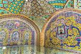 Patterned walls royal palace