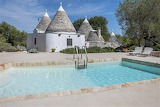 Beautiful white Trullo villa, pool and terrace in Puglia, Italy