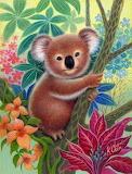 Colourful Koala by K Chin