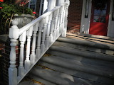 steps porch at B&B Michigan