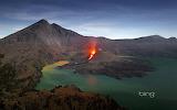 Mount Rinjani.Lombok.Indonesia