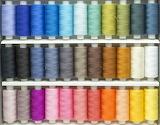 Color rainbow fabric thread