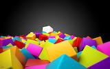 3d colorful squares-wide