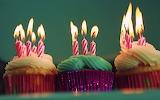 ^ Birthday cupcakes