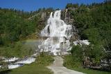 Tvindefossen Waterfall In Norway