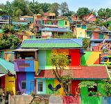 Kampung Pelangi, Indonesia