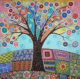 Colored Tree - Karla Gerard