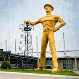 Tulsa, The Oil Man Giant