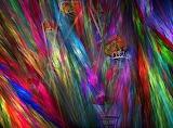 Le pèlerinage est arrivé... rainbow color painting