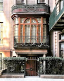 Gates doors stairs Upper East side New York