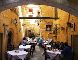 Restaurant in the old town Chania