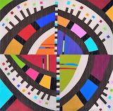 Confetti wall quilt, Cindy Griselda