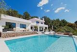 dream villa and pool in ibiza